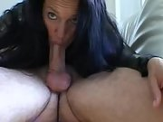Wifey shows us how to deep hatch a hard-on