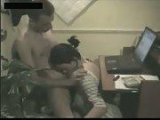Webcam couple office sex