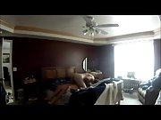 Hidden camera setup in our bedroom recording me smashing my wife