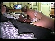 Hotwife busty milf in milky underwear fucking black brothers big dicks