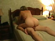 Mature housewife filmed by husband having lovemaking with another dude
