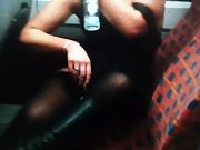 Mrs toodosex4u getting insane on teach and giving strangers a show