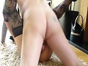 Scottish swinger wife housewife sex video, pulverized on floor