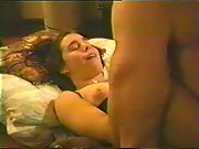 Passionate young lovers lovin' sex making wife sex-tape flick