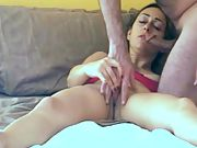 Cuckold films his arab wife orgasming for strangers cock