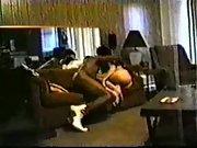 Laura caught on hidden cam having hump with her ebony secret lover